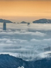 Sea of Clouds over the Victoria Harbour
